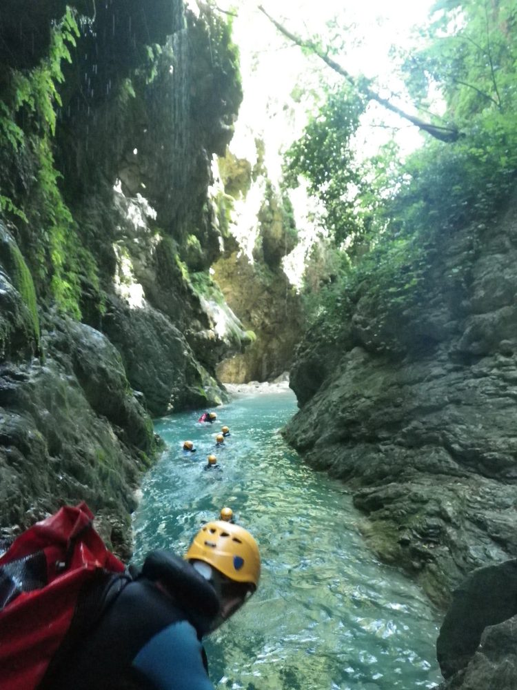 Canyoning and outdoor sports in Nice
