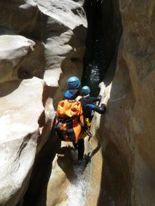 canyon06-canyoning in riolan-nice-esteron-beautifull rock shapes