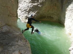 A small jump in Riolan canyon-06