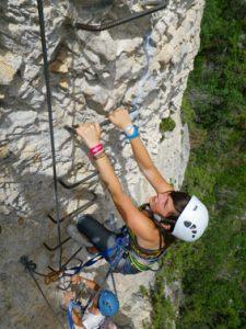 climbing peille via ferrata nice
