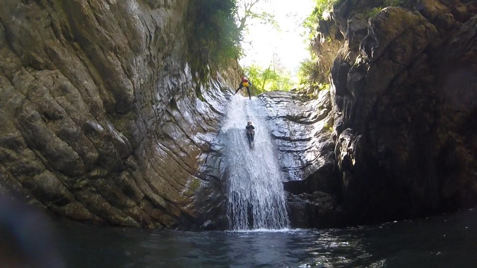 Canyoning Bollene Vésubie Nice