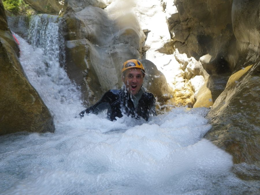 Discover canyoning in Cramasssouri, Nice Cote d'Azur