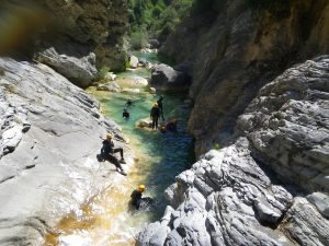 Canyoning alpes maritimes-best spots