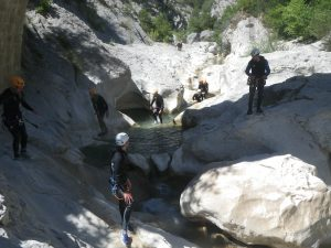bachelor party-Nice Côte Azur-canyoning-Canyon06