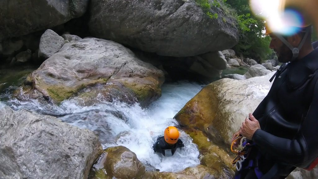 Aquatic hike in the French Riviera-Nice-Canyon06