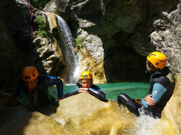 The Barbaira, a beautifull canyoning tour close to Nice