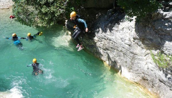 A beautifull jump in Barbaira