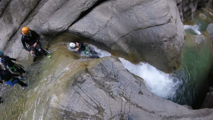 half day canyoning trips in the French Riviera