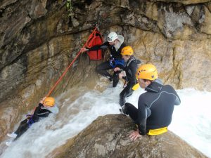 canyoning in Barbaira - Nice Cote Azur