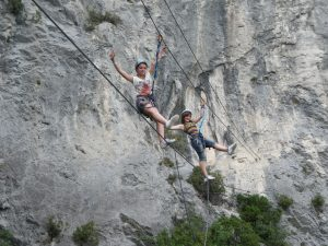 Via ferrata in Peille-Nice-06